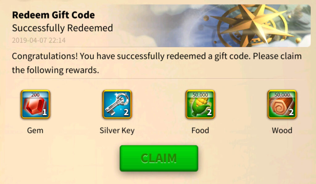 rise of kingdoms redeem codes