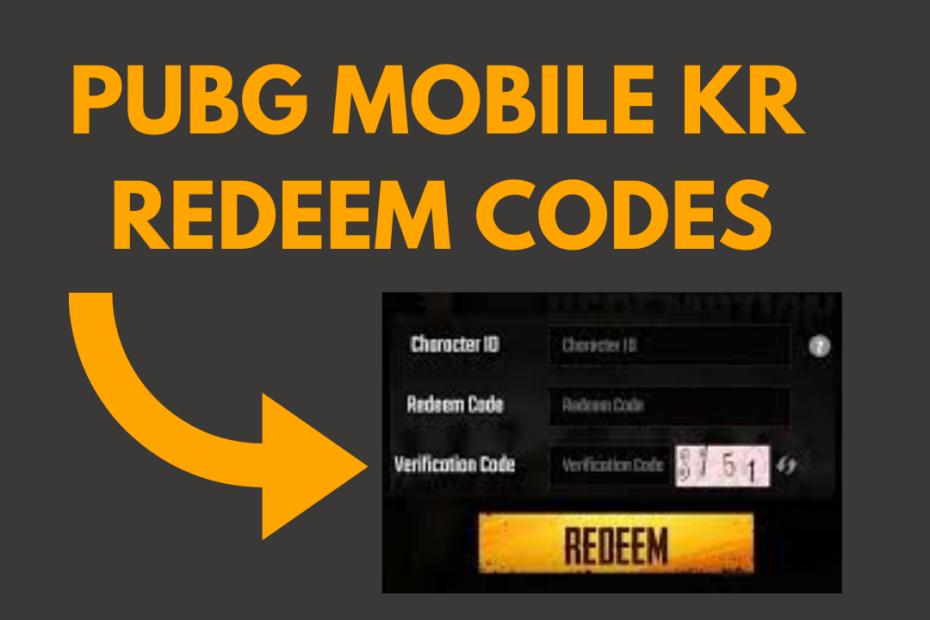 PUBG MOBILE REDEEM CODES