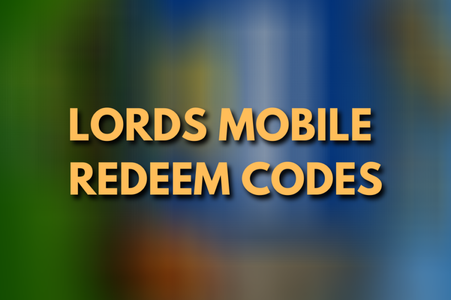 lords mobile redeem codes
